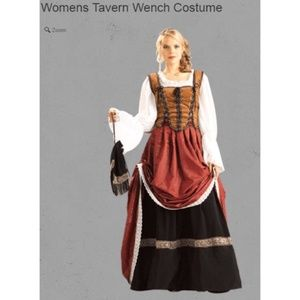 *NEW* Medieval Tavern Wench Halloween Costume